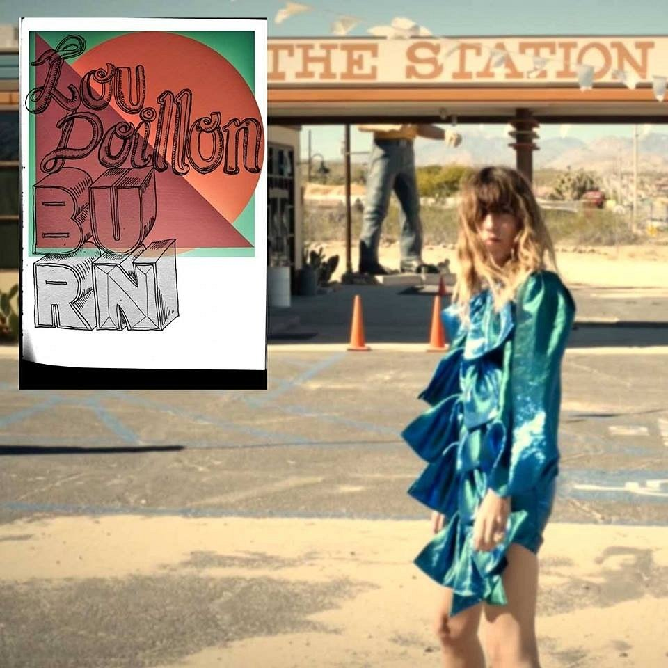 "Lou Doillon z klipem do ""Burn"""