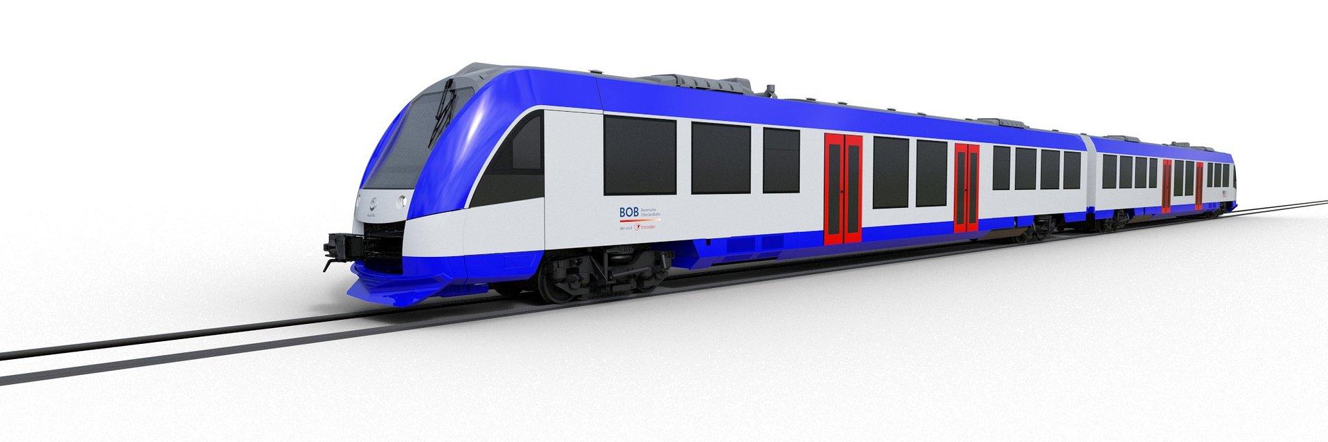 Alstom dostarczy 25 pociągów Coradia Lint bawarskiej spółce Bayerische Oberlandbahn