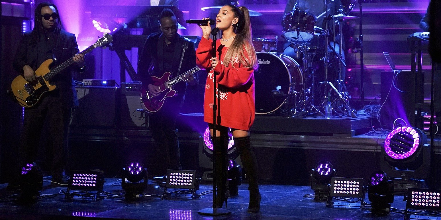 """Ariana Grande zadebiutowała z """"Imagine"""" u Fallona"""