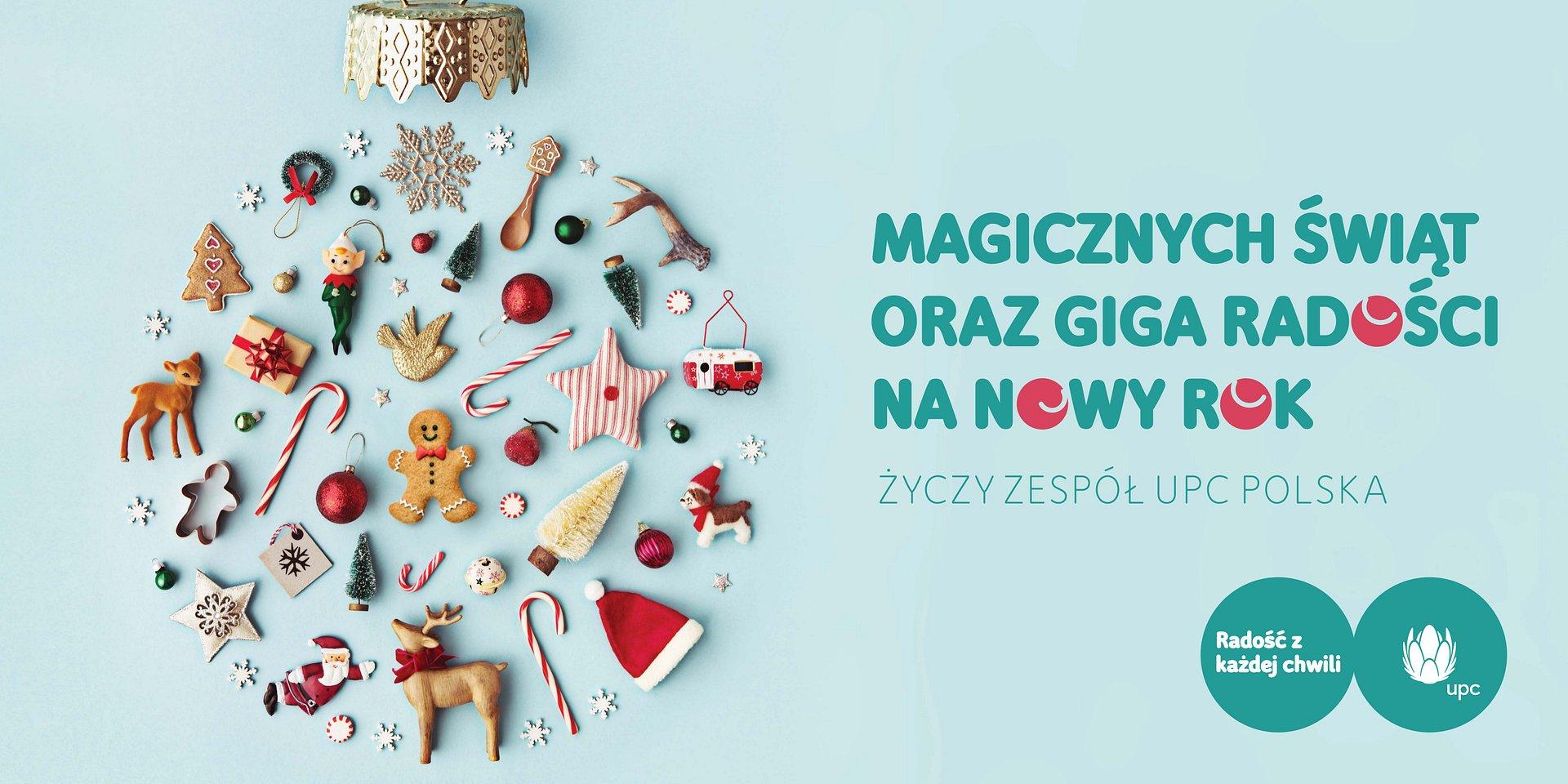 Radości z każdej chwili podczas Świąt Bożego Narodzenia!