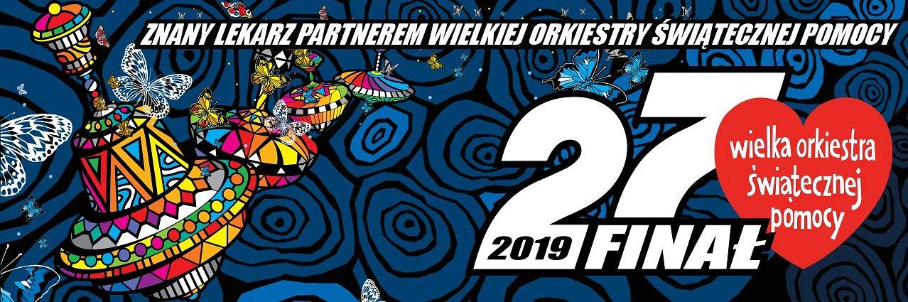 Przychodnia ZnanyLekarz pod PKiN podczas 27. Finału Wielkiej Orkiestry Świątecznej Pomocy.