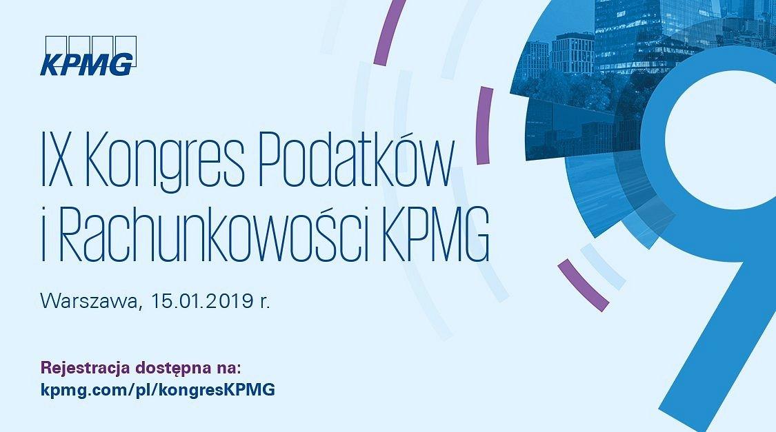 ACCA Patronem IX Kongresu Podatków i Rachunkowości KPMG