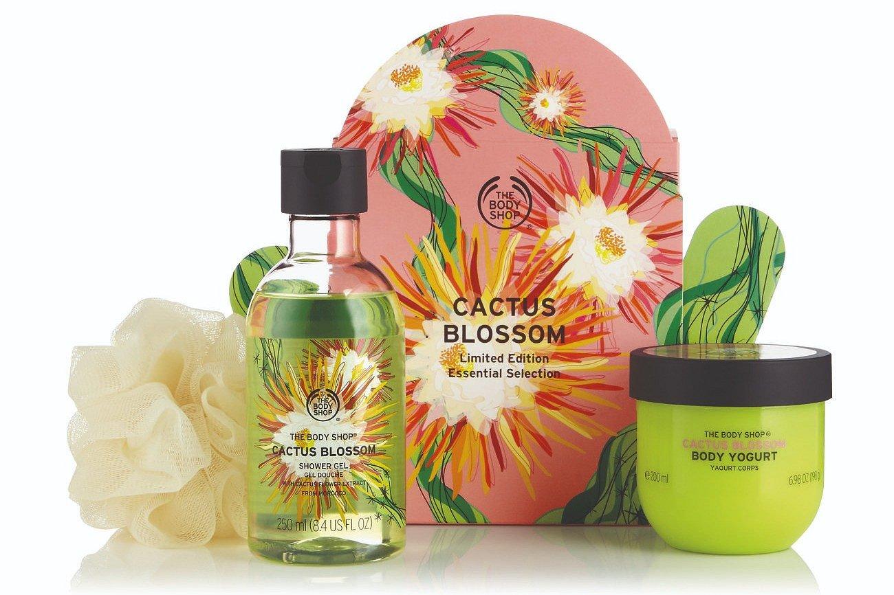 Kaktusowa moc w najnowszej linii The Body Shop