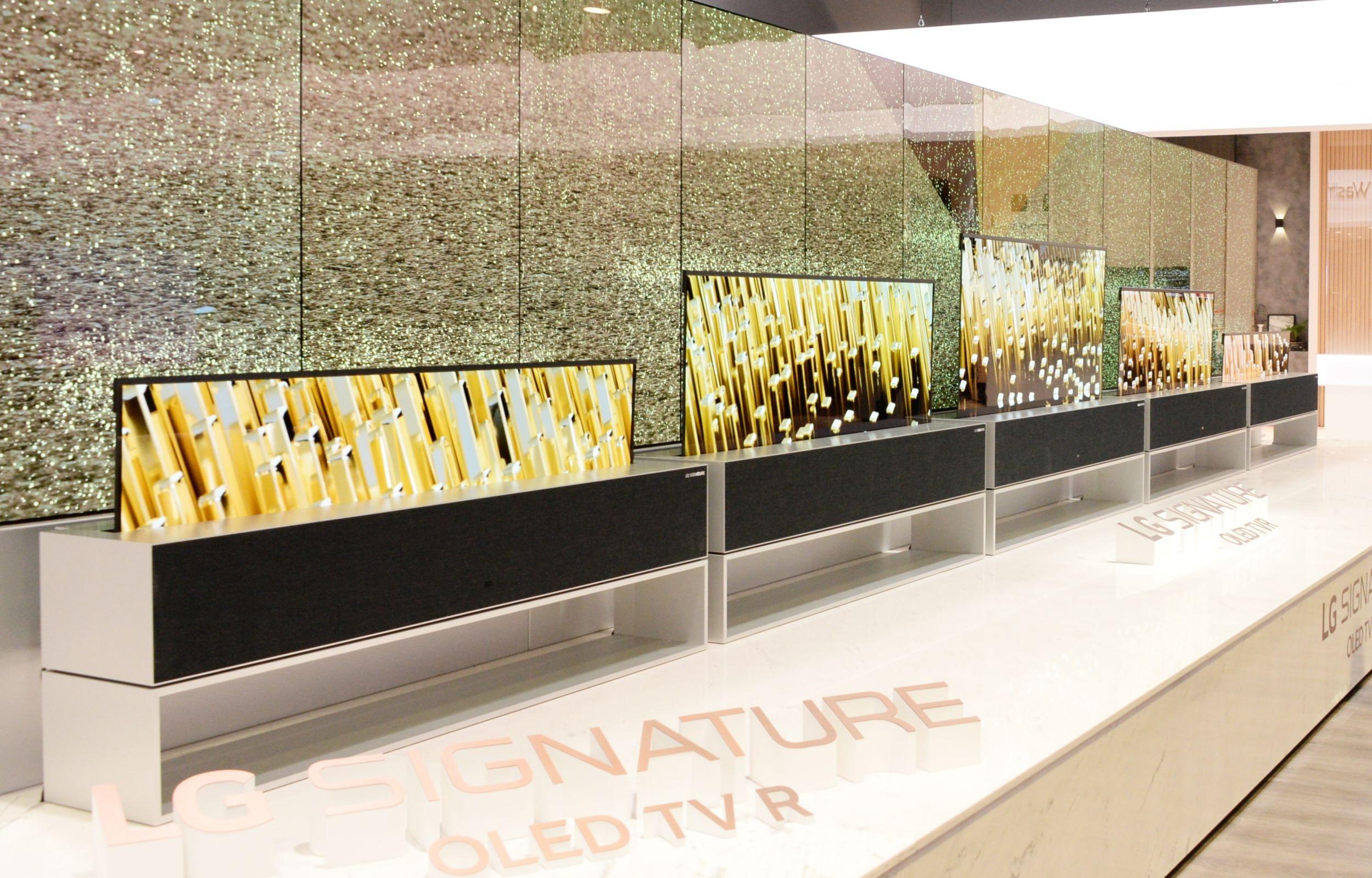 CES 2019: LG otwiera nowy rozdział telewizji jutra prezentując pierwszy na świecie rolowany telewizor OLED