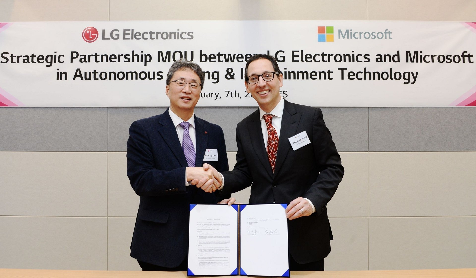 CES 2019: LG i Microsoft przyspieszą rozwój autonomicznych samochodów