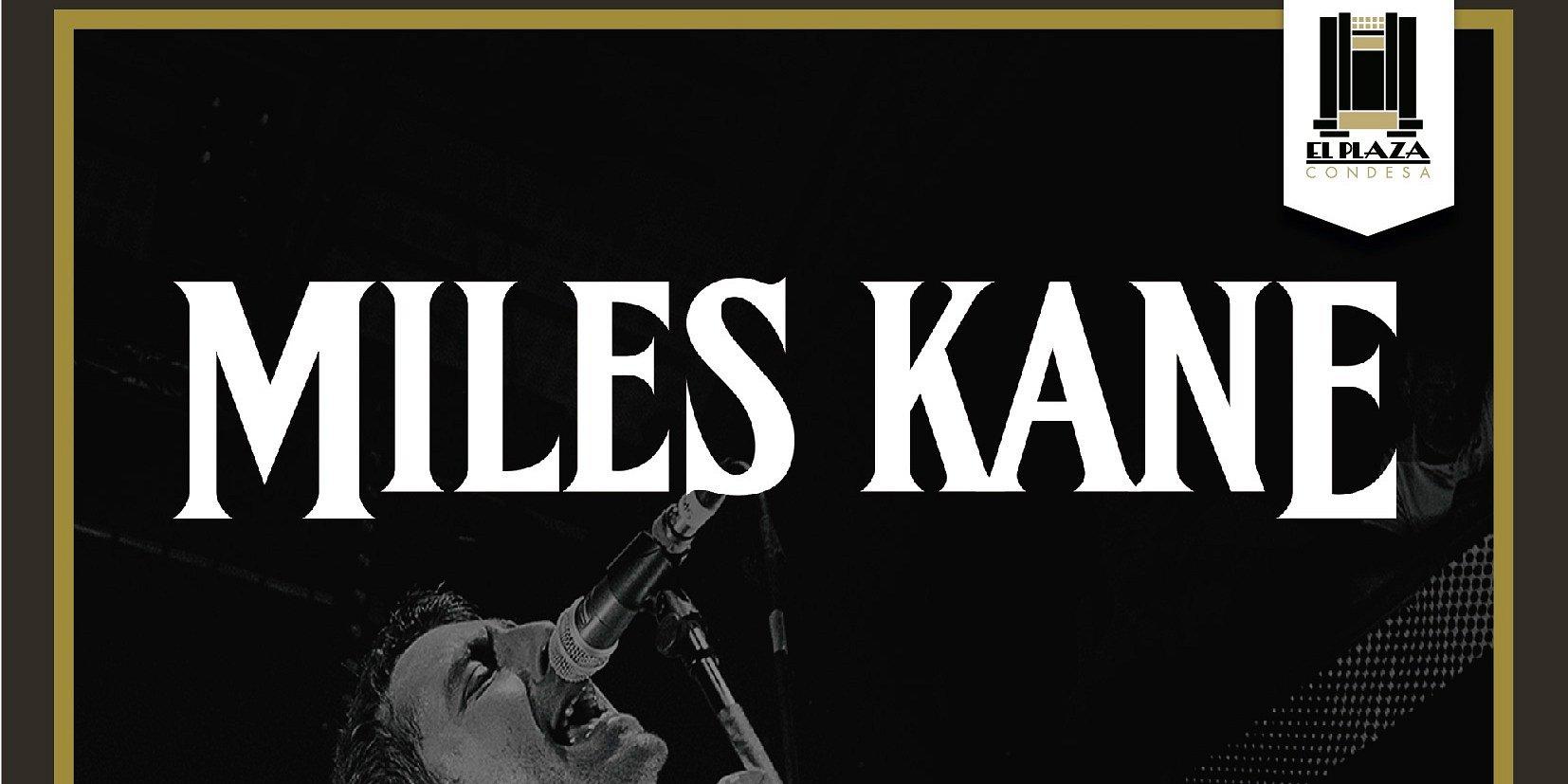 Miles Kane se presentará en El Plaza Condesa