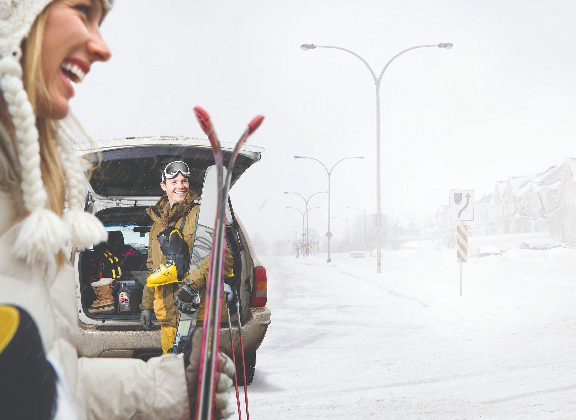 Ferie zimowe w Europie – auto dobrze przygotowane