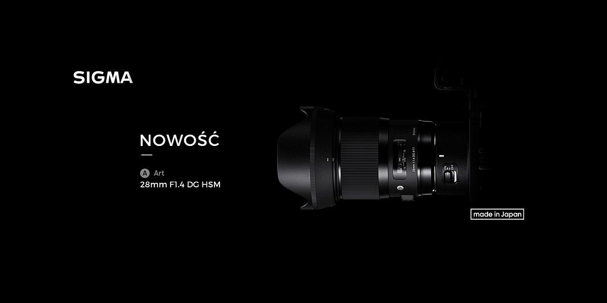 Znamy cenę obiektywu SIGMA A 28mm F1.4 DG HSM!