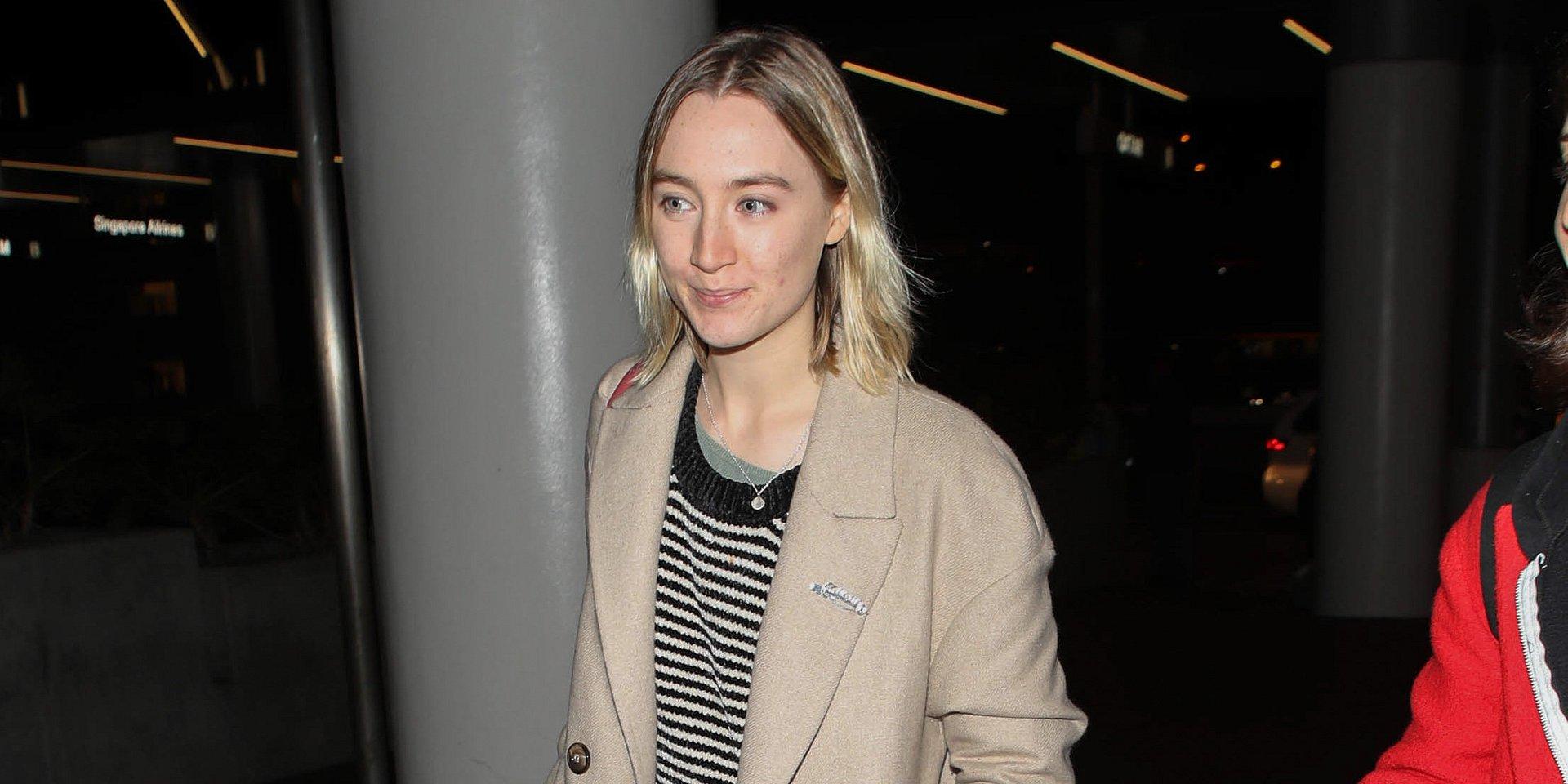 SPOTTED: Saoirse Ronan w płaszczu MANGO z najnowszej kolekcji!