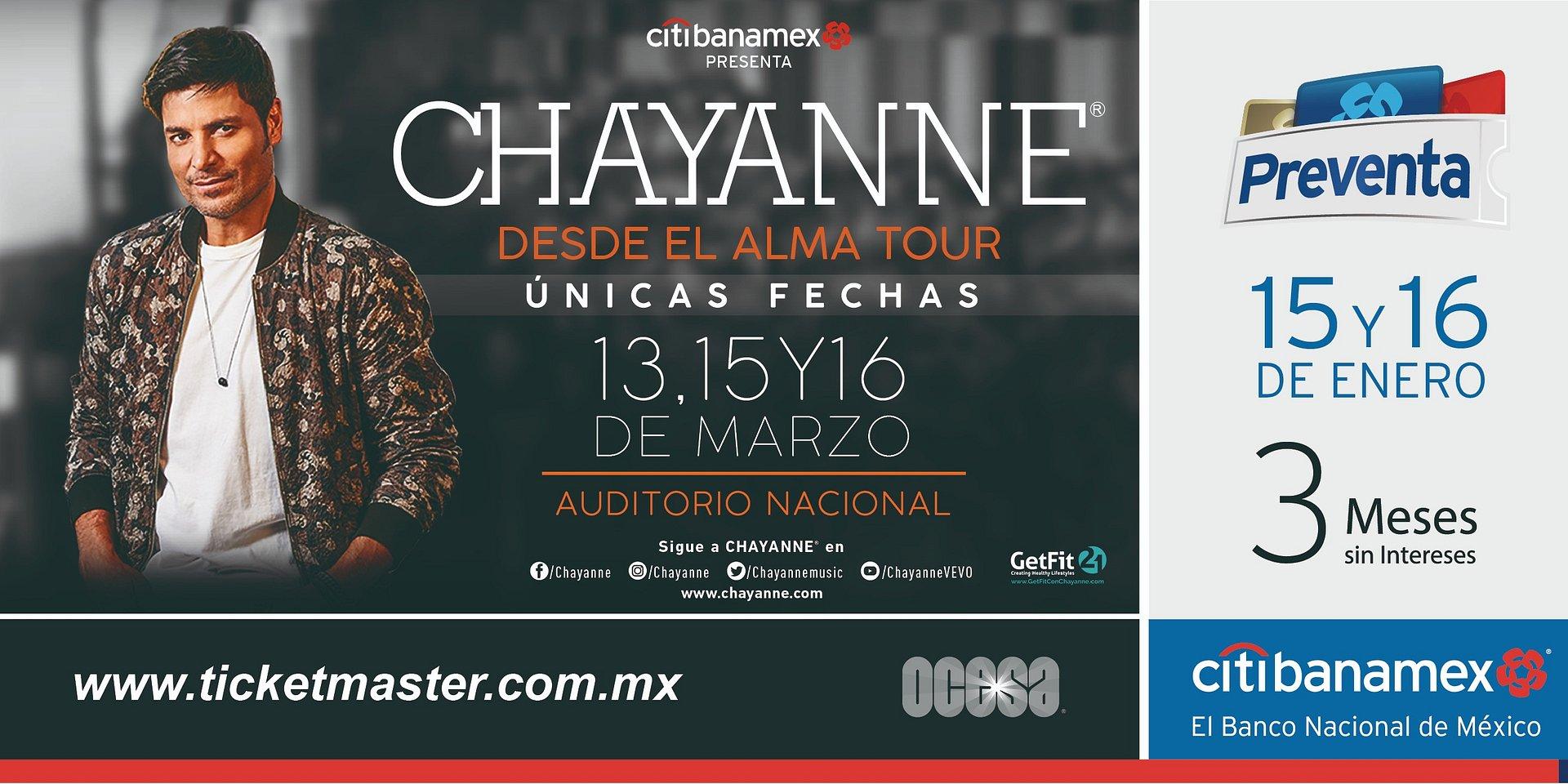 Chayanne regresa con Desde el Alma Tour