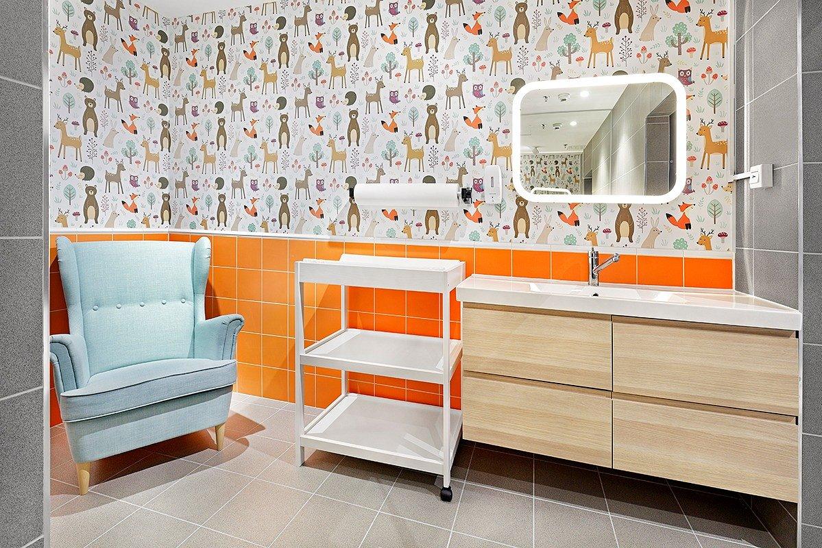 Pokój dla rodzica z dzieckiem w Galerii Wołomin