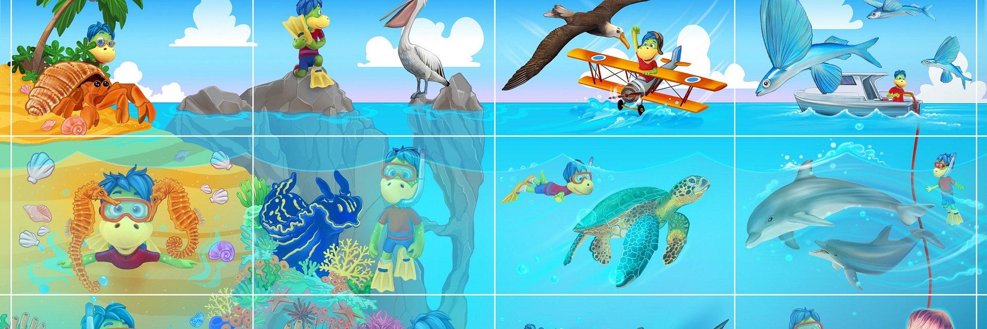 Nowy Rok dla Twojego dziecka – Odkrywaj morski świat z Danonkiem! Specjalna edycja magnesów z aplikacją Shazam.