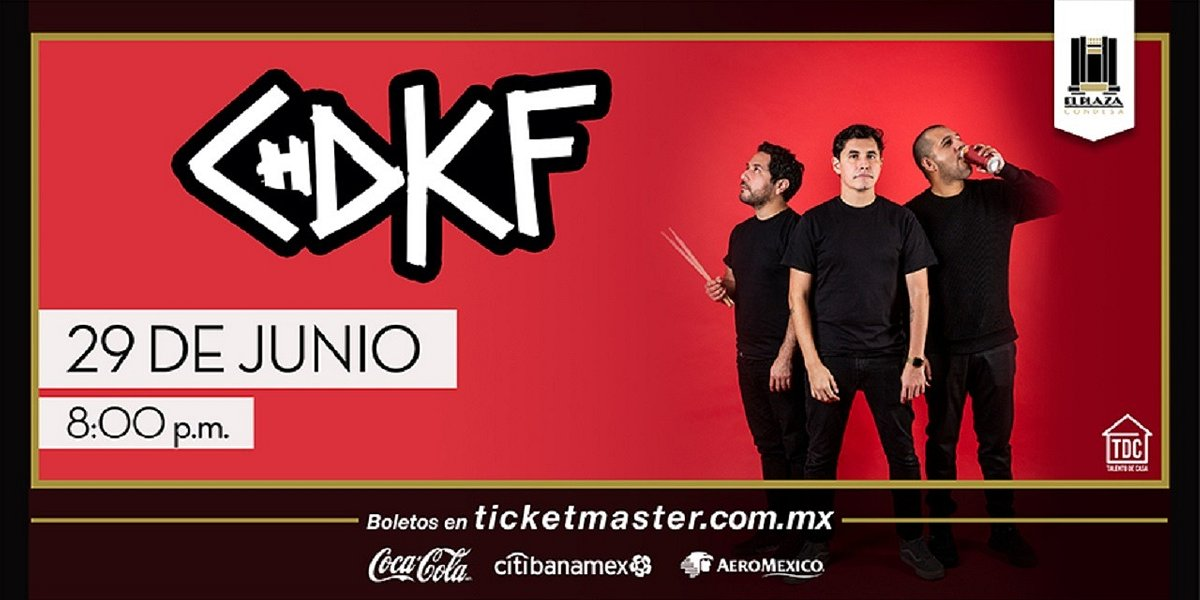 Chingadazo de Kung fu llegará con todo su punk rock a El Plaza Condesa