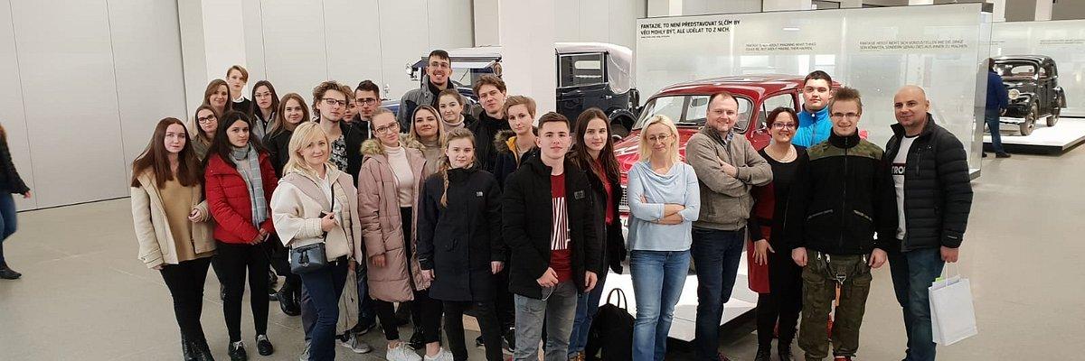 Wizyta w fabryce i Muzeum Skody w Czechach