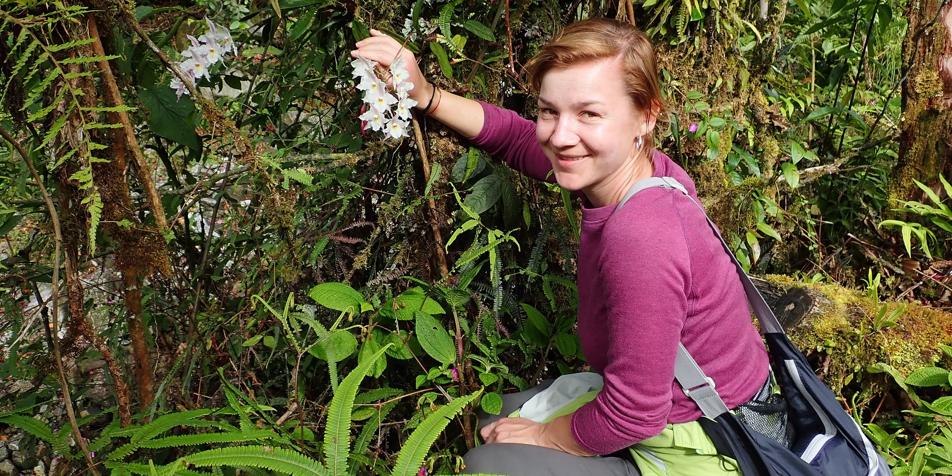 Dr hab. Marta Kolanowska odkrywa tajemnice kolumbijskiej przyrody