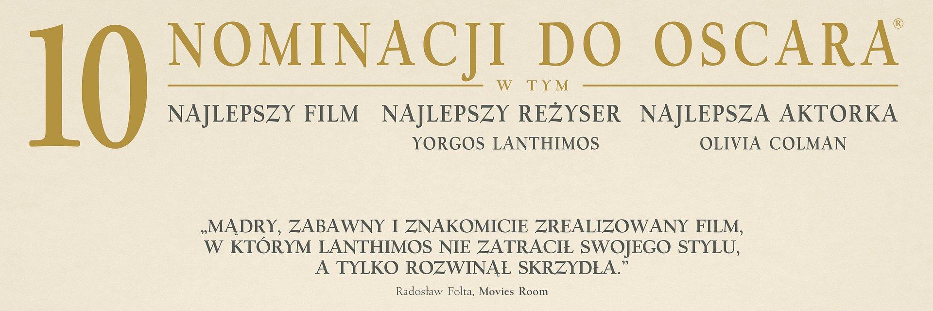 """Filmy 20th Century Fox z 20 nominacjami do Oscara. W kategorii """"Najlepszy film"""" powalczą dwie produkcje wytwórni """"Faworyta"""" i """"Bohemian Rhapsody"""""""