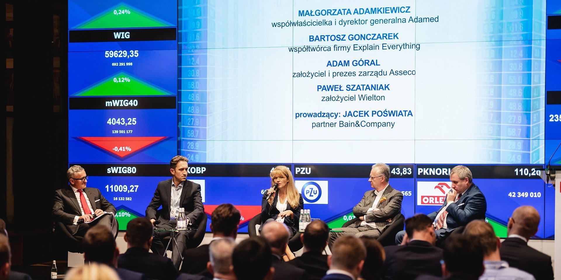 Dr N. Med. Małgorzata Adamkiewicz na III Kongresie Polskiego Kapitału