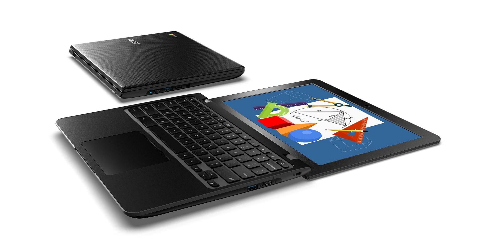 12-calowe Chromebooki do sal lekcyjnych zaprezentowane na BETT 2019