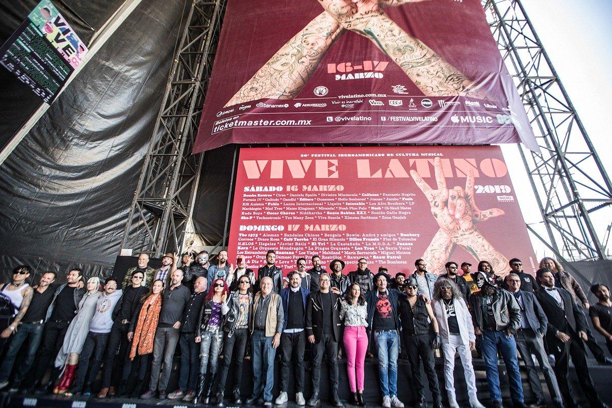 ¡La historia continúa! XX años del más importante festival Iberoamericano de Cultura Musical Vive Latino