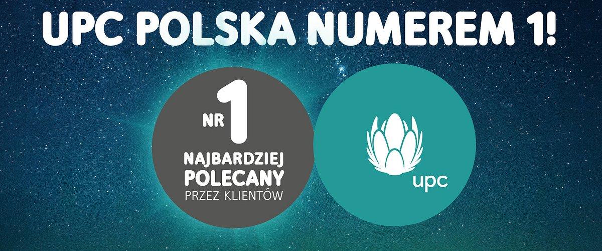 UPC najbardziej rekomendowanym operatorem na polskim rynku w 2018 roku