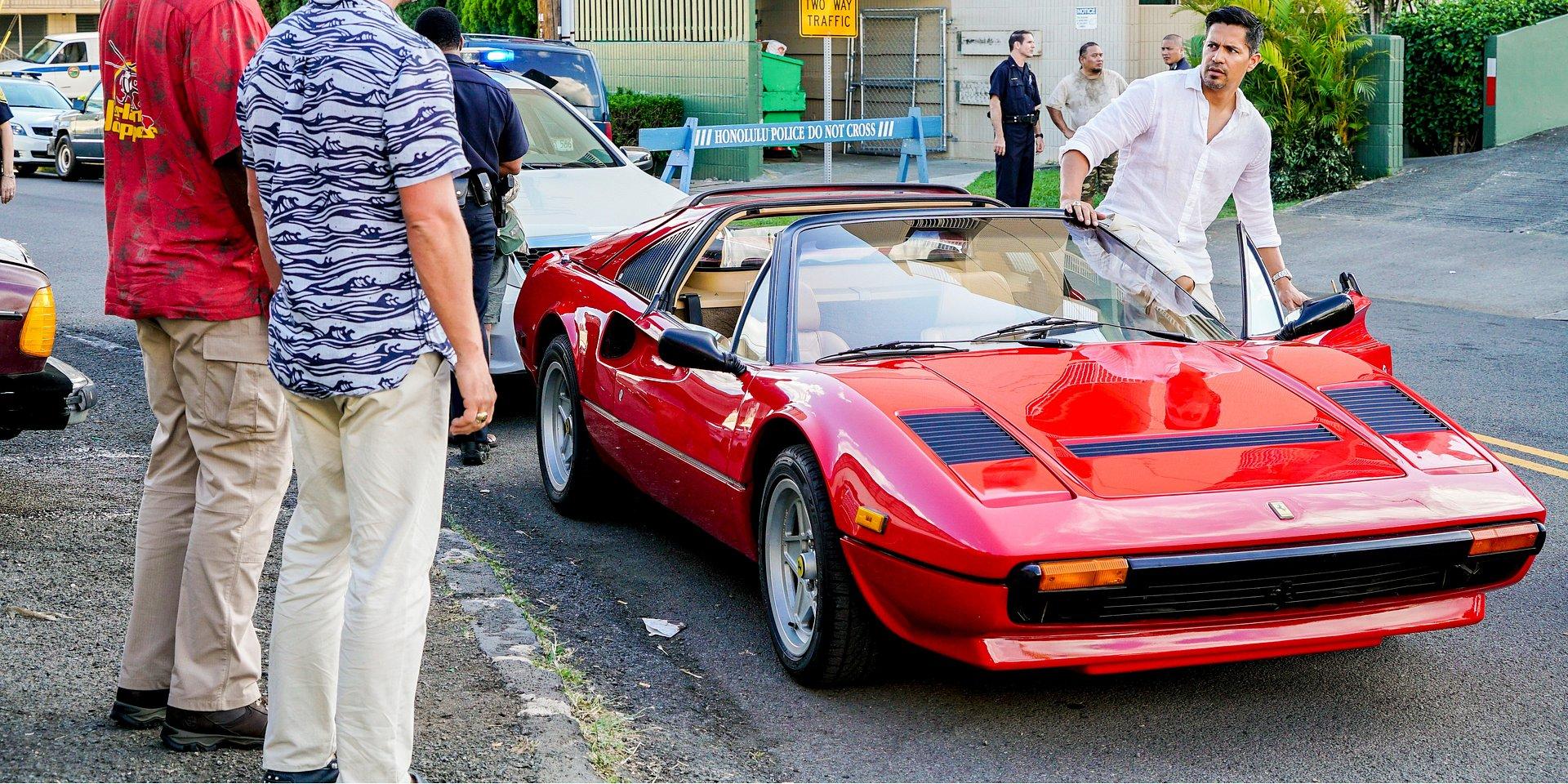 Ferrari 488 Spider, 308 GTS czyli…Samochody Thomasa Magnuma!