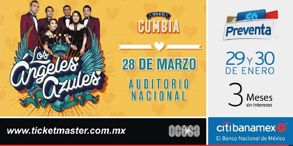 Los Ángeles Azules abren nueva fecha en el Auditorio Nacional
