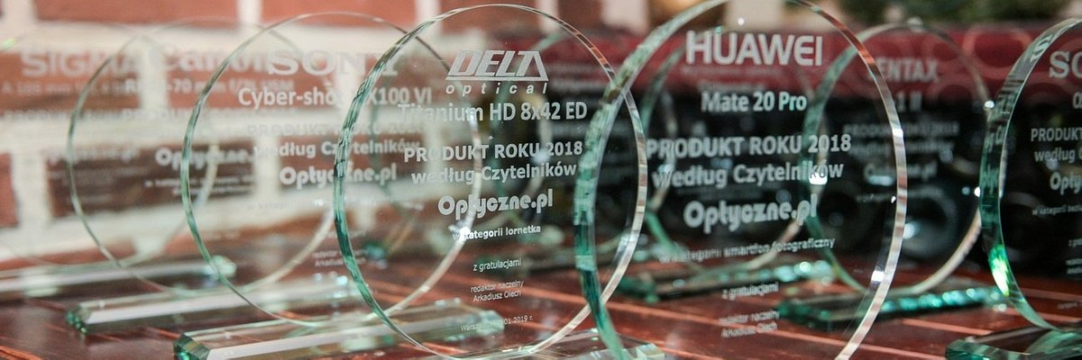Najlepszy obiektyw oraz dystrybutor roku 2018 – 2 nagrody od czytelników Optyczne.pl
