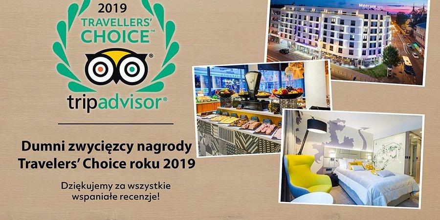 Mercure Kraków Stare Miasto na 5. miejscu w rankingu najlepszych hoteli w Polsce.