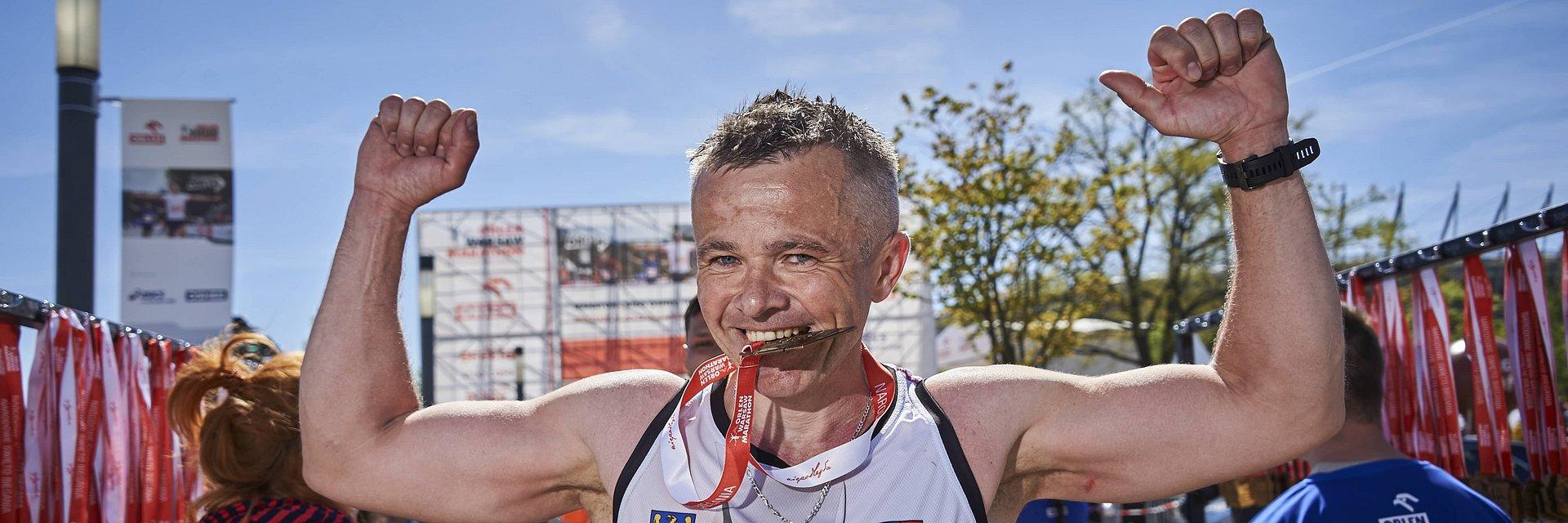 Wiemy jak będą wyglądać medale ORLEN Warsaw Marathon!