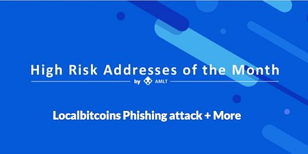 LocalBitcoins Phishing Attack + Cryptopia Hack in High Risk Addresses of the Month