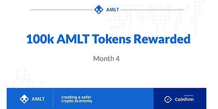 100k AMLT Tokens just Rewarded to NM's!