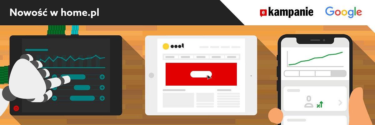 PREMIERA! eKampanie Google - nowatorskie narzędzie do marketingu internetowego od home.pl