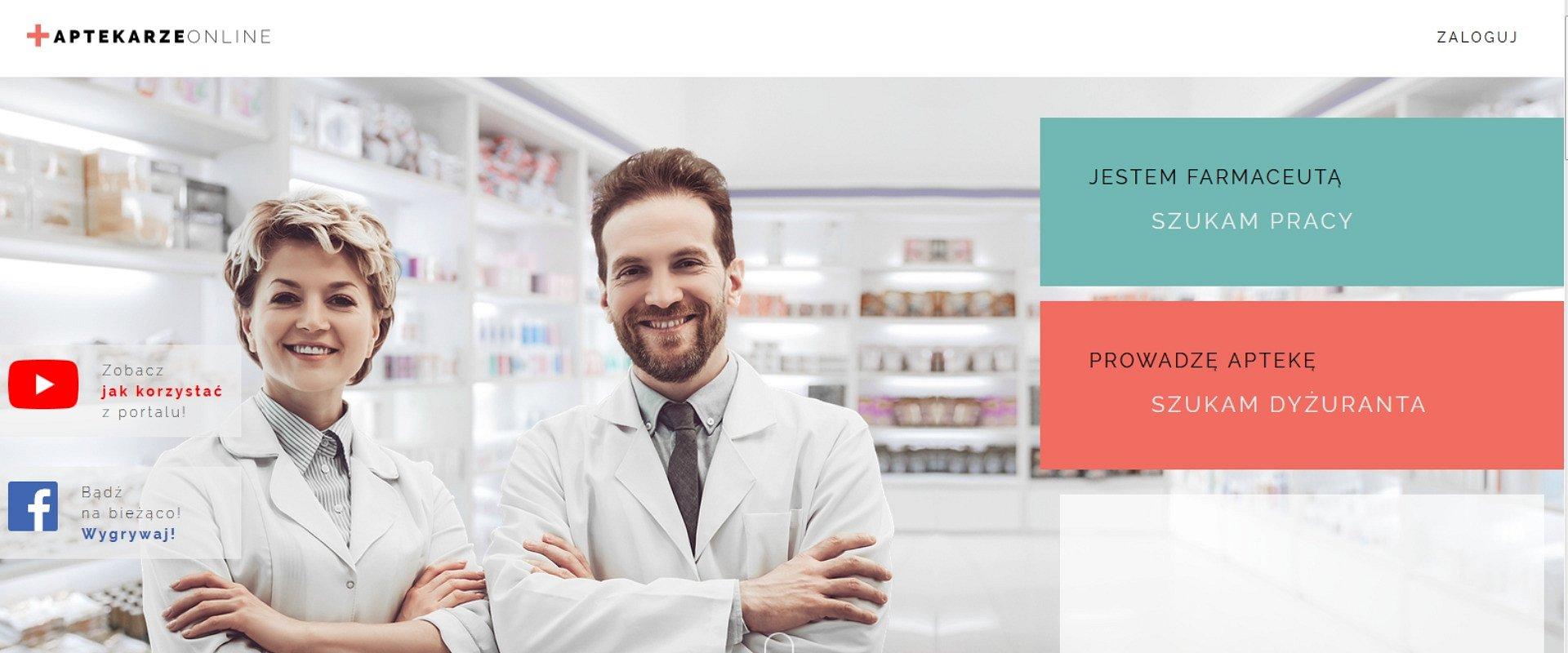 Farmaceuta potrzebny od zaraz