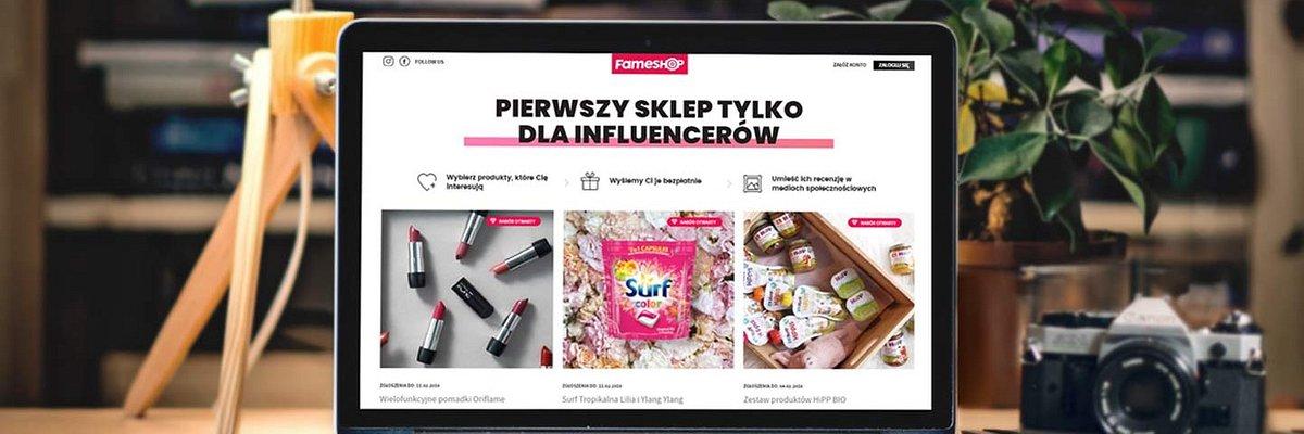 Fameshop - czyli pierwszy sklep tylko dla influencerów