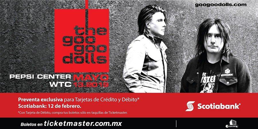 GOO GOO DOLLS ANUNCIAN SHOW EN EL PEPSI CENTER