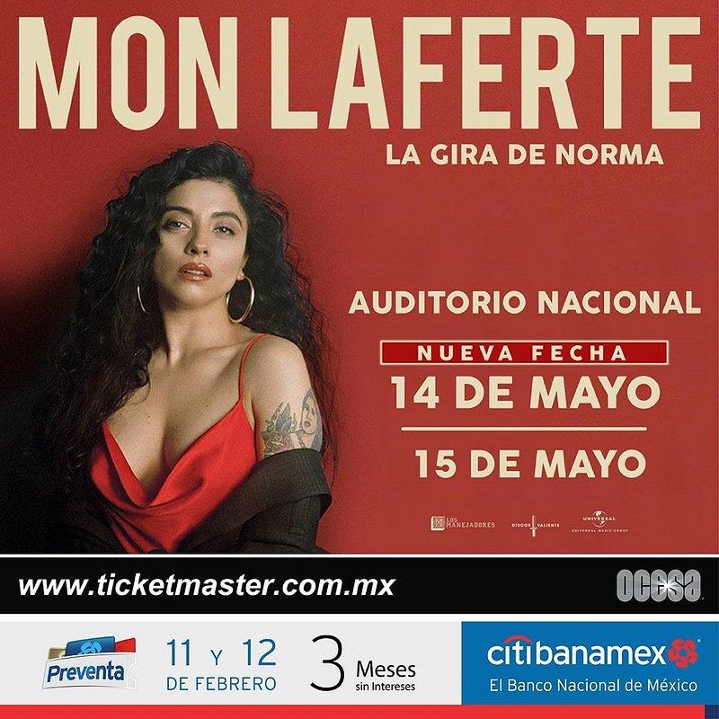 Mon Laferte anuncia una fecha más en la Ciudad de México