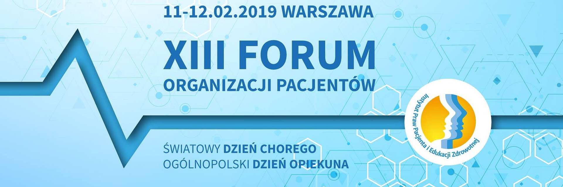 XIII Forum Organizacji Pacjentów