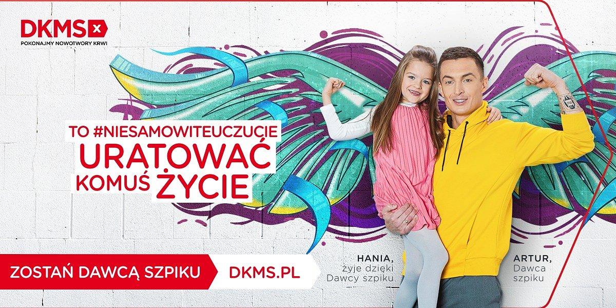 Historie Dawców Szpiku, które uskrzydlają - nowa kampania Fundacji DKMS