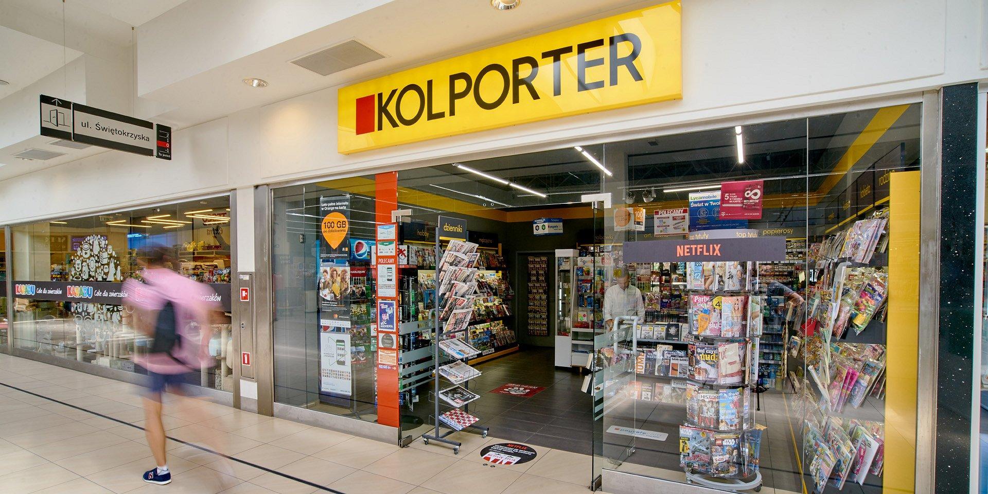 Wzrost sprzedaży produktów okołoprasowych w salonikach Kolportera