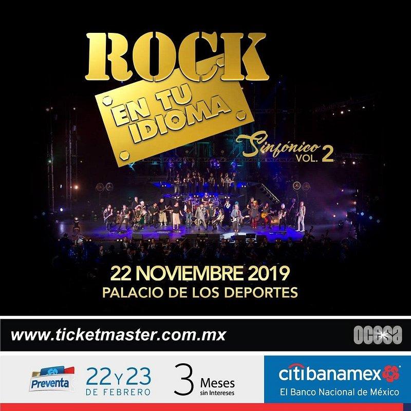 ¡¡¡La historia continúa!!! Rock en tu Idioma Sinfónico Vol. 2 regresa a los escenarios de la CDMX