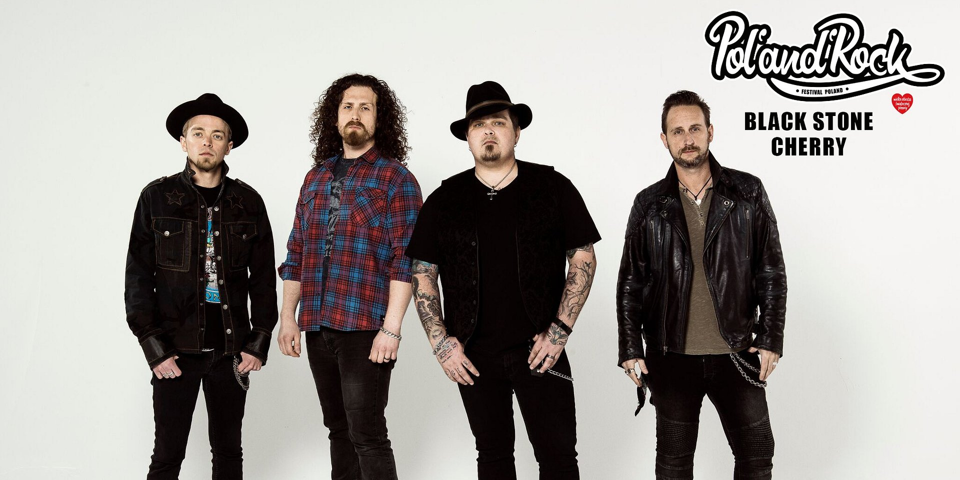 Black Stone Cherry at Pol'and'Rock Festival
