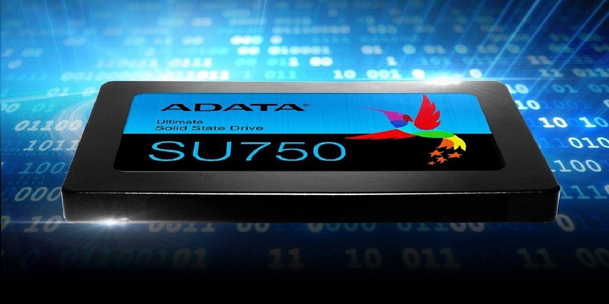 Dysk SSD ADATA SU750 – niedrogi sposób na upgrade komputera