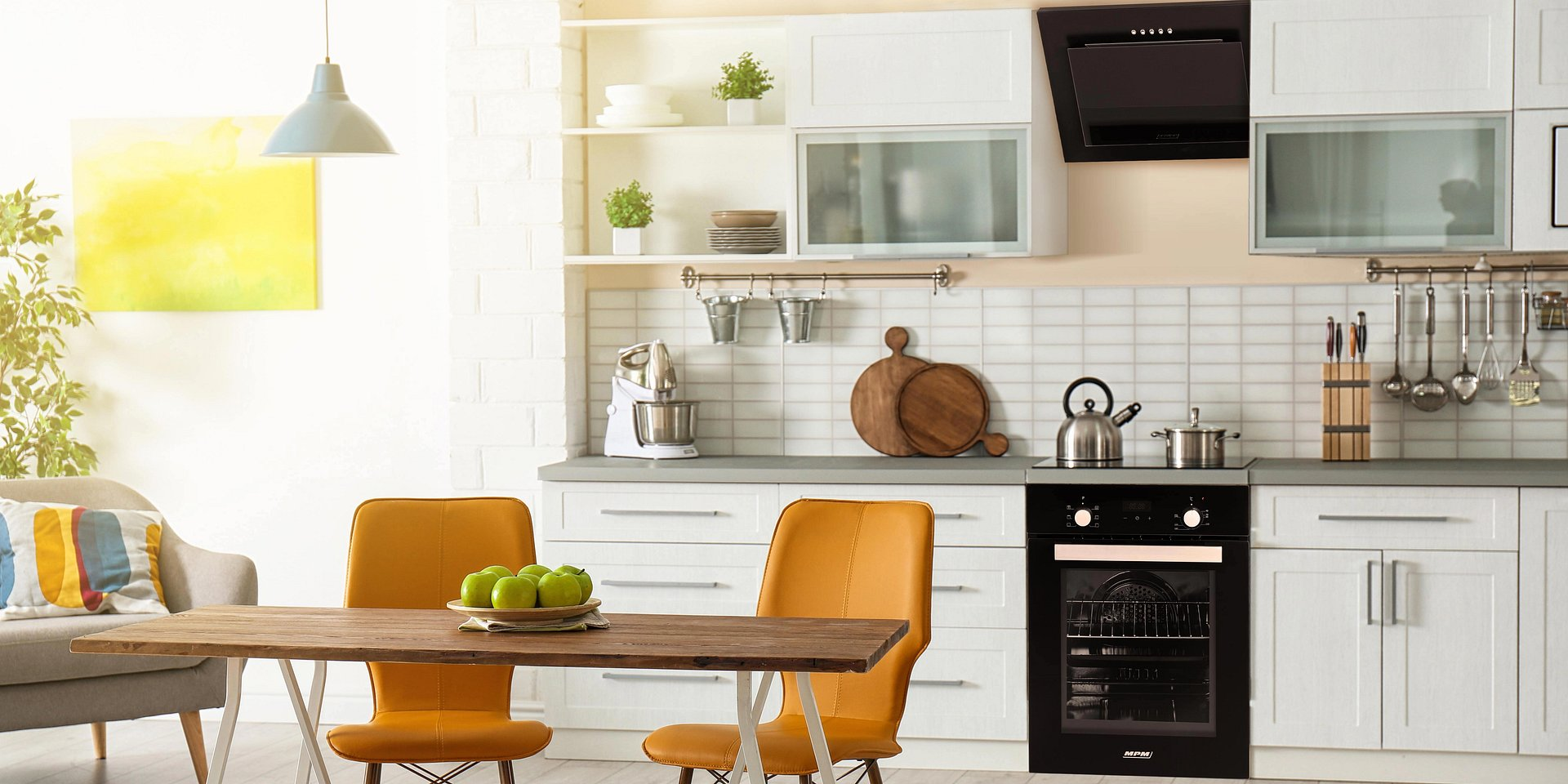 Salon z kuchnią, czyli para idealna