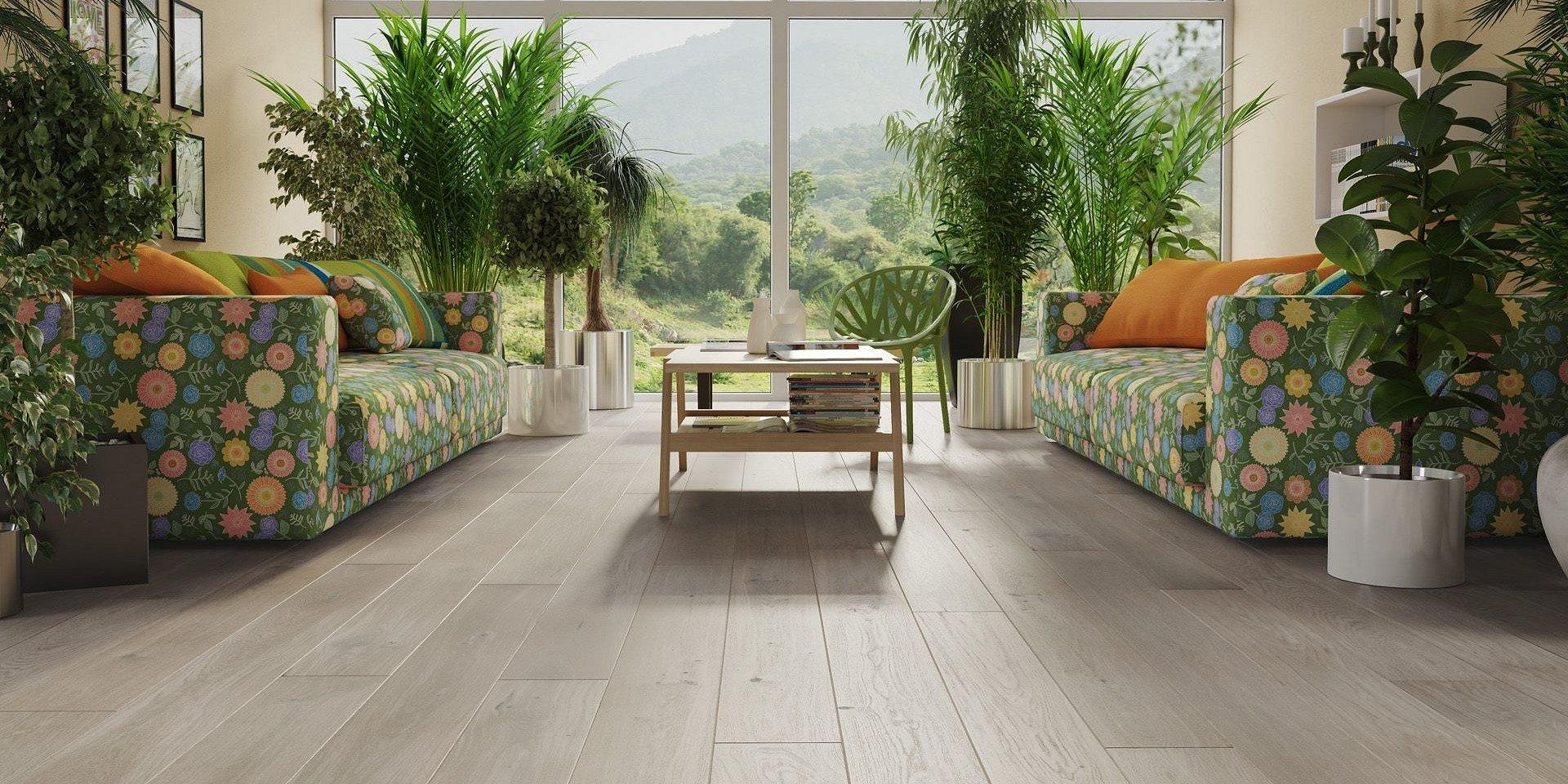 Wiosenne trendy - podłogi i dywany w harmonii z naturą