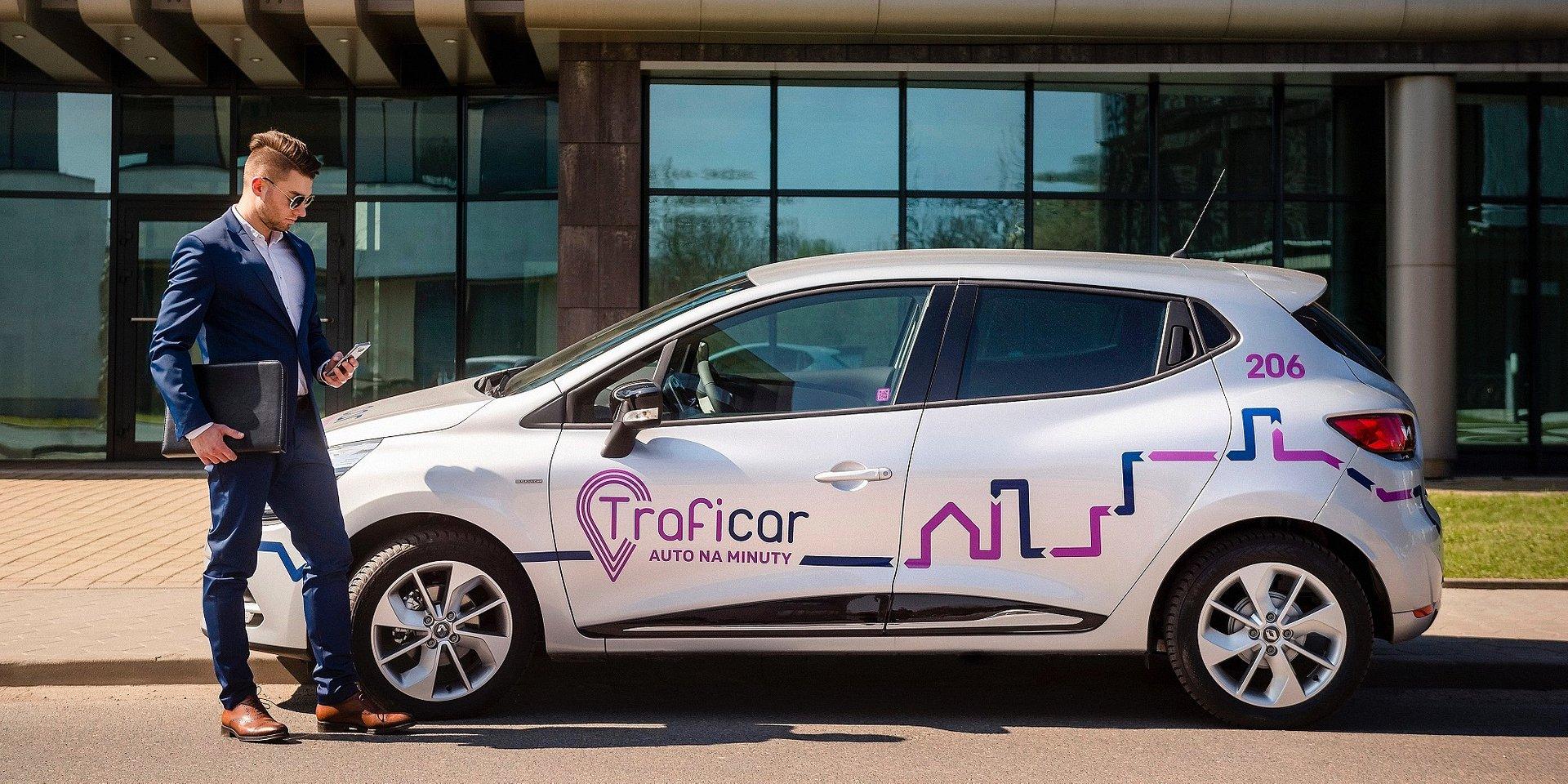 Fleetsharing, czyli Traficar z nową usługą wynajmu aut na minuty dla firm