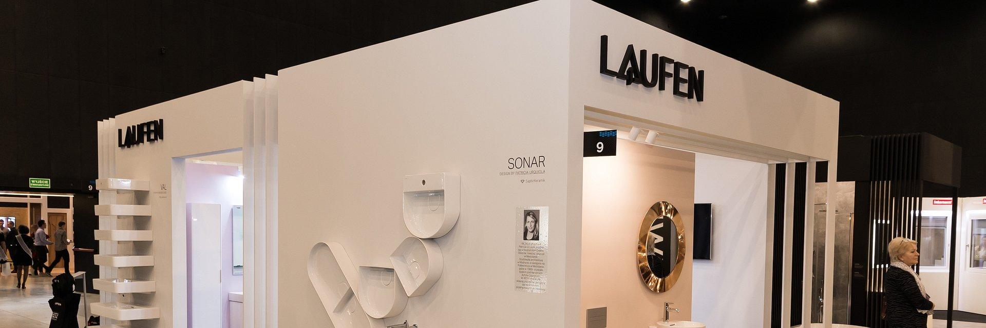 Nowości LAUFEN prezentowane na targach 4 DESIGN DAYS 2019. Dzieła marki Laufen stworzone we współpracy z najlepszymi biurami projektowymi.