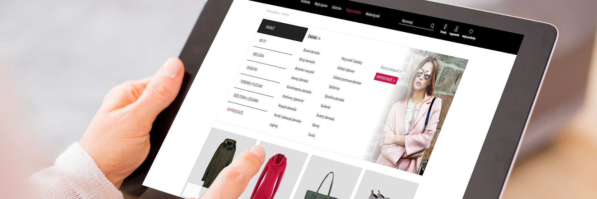 RAPORT: przeglądarki modowe i sklepy multibrandowe