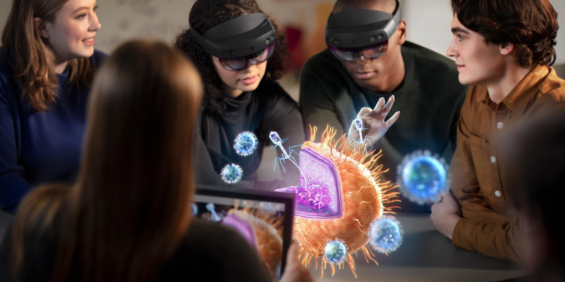 Microsoft eleva realidade virtual a outro nível com nova versão de HoloLens