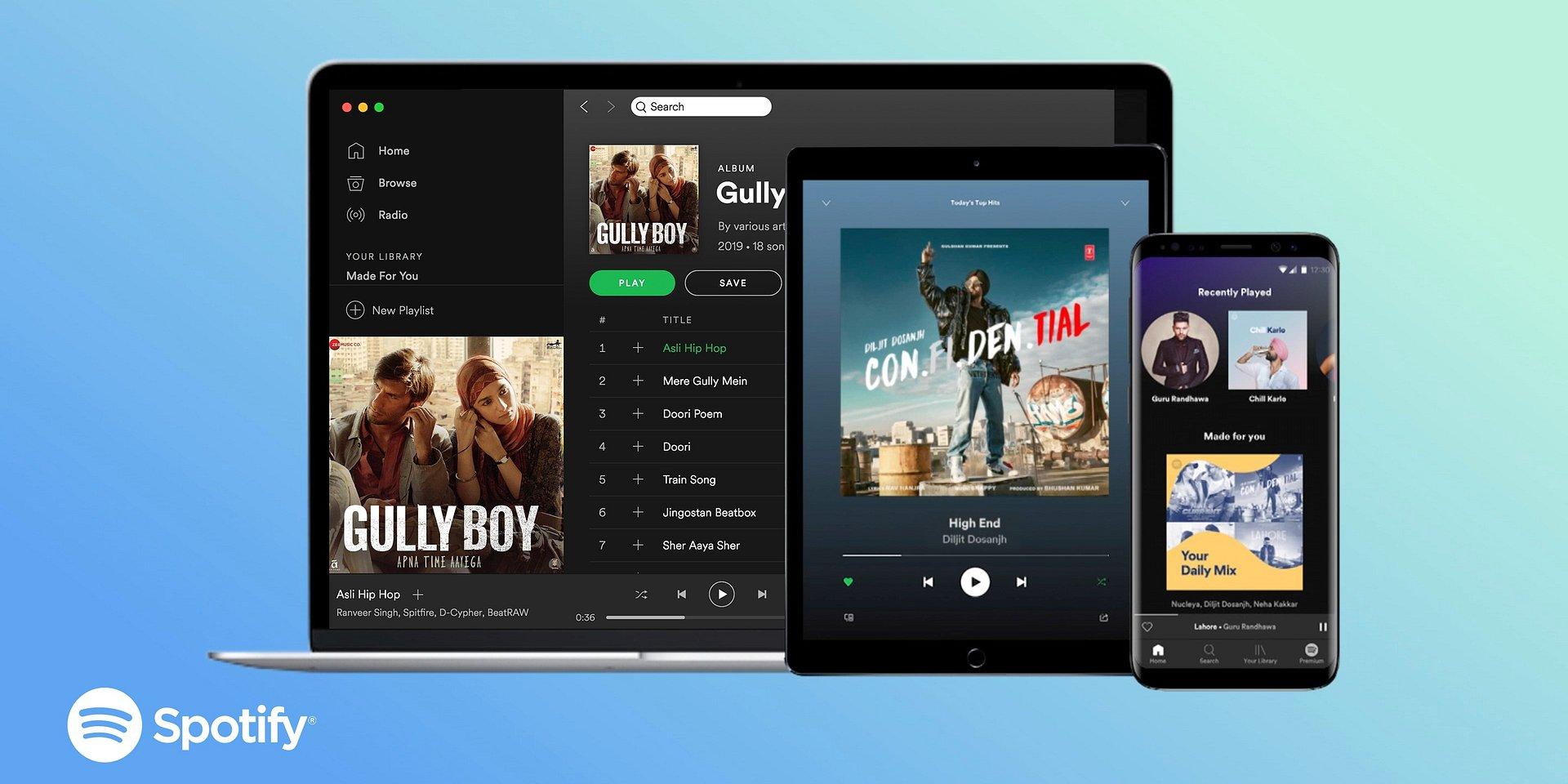 Spotify w Indiach!