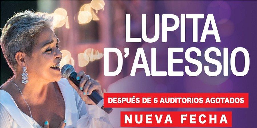 Lupita D´Alessio se presentará una vez más en el Auditorio Nacional